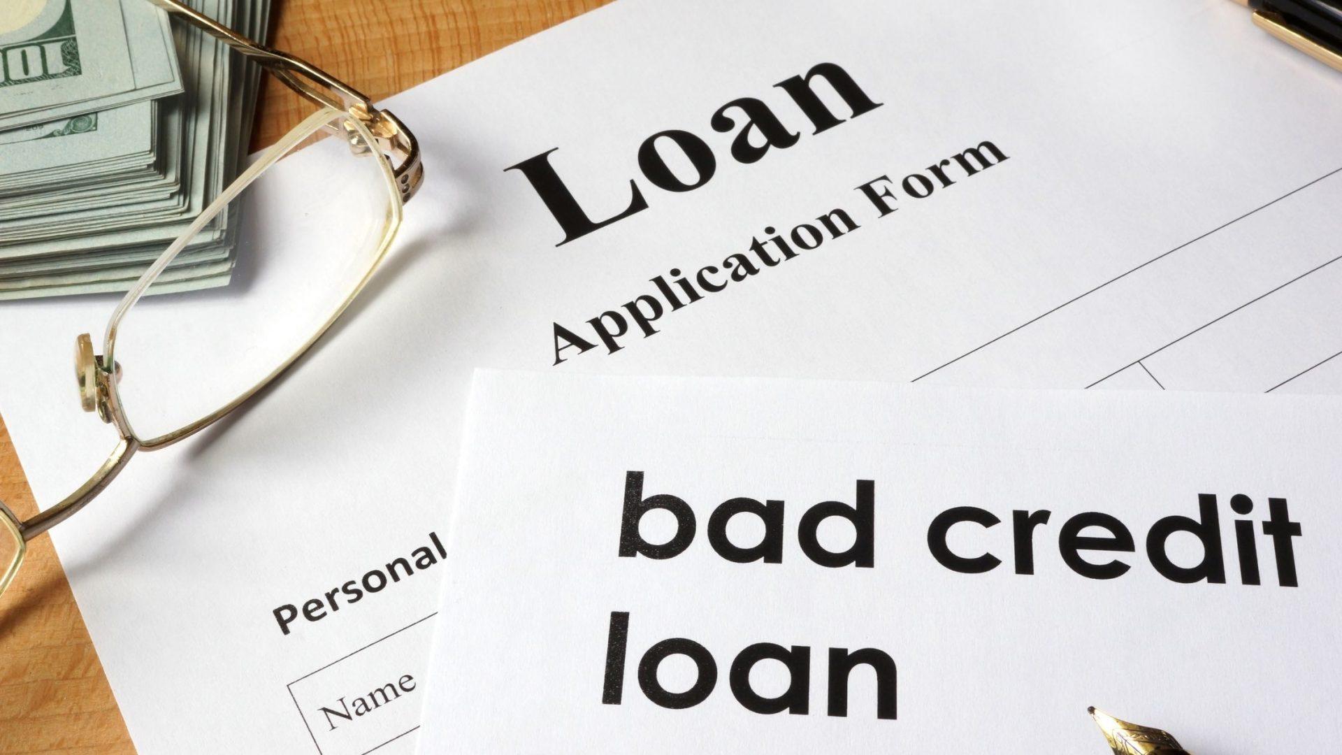 Understanding Bad Credit Loans